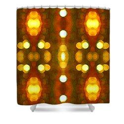 Sunset Glow 2 Shower Curtain by Amy Vangsgard