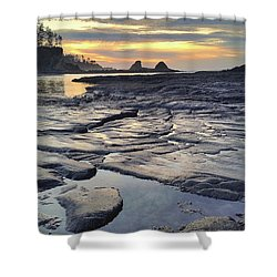 Sunset Glow Shower Curtain