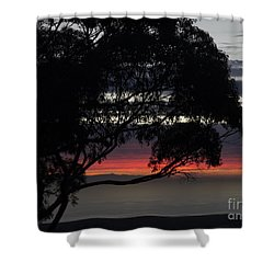Sunset Hill Shower Curtain