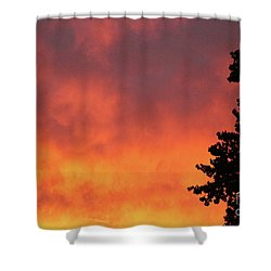 Sunset II Reno, Nevada Shower Curtain