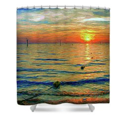 Sunset Impressions Shower Curtain