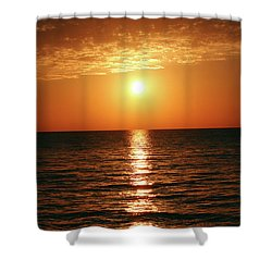 Sunset In Bimini Shower Curtain