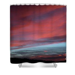 Sunset In Capital Reef  Shower Curtain