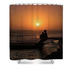 Sunset In Cerritos Shower Curtain