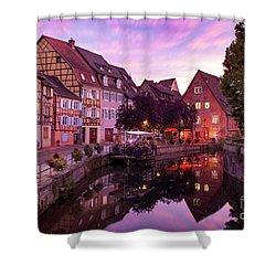 Sunset In Colmar Shower Curtain by Brian Jannsen