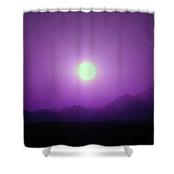 Sunset In Egypt 4 Shower Curtain