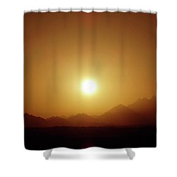 Sunset In Egypt 7 Shower Curtain