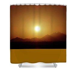 Sunset In Egypt 7 Shower Curtain