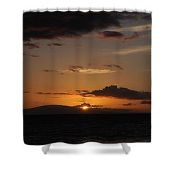 Sunset In Maui 2 Shower Curtain