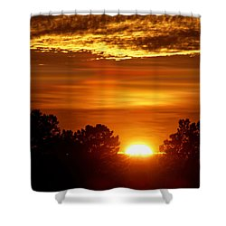 Sunset In Sonoma County Shower Curtain