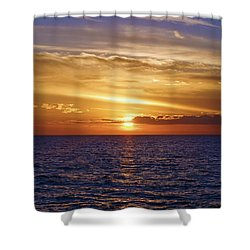 Sunset In Sw Florida Shower Curtain