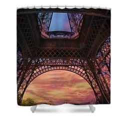Shower Curtain featuring the photograph Sunset by John Rivera