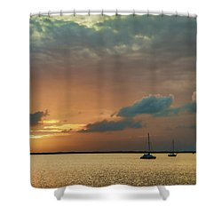 Sunset, Key Largo Shower Curtain