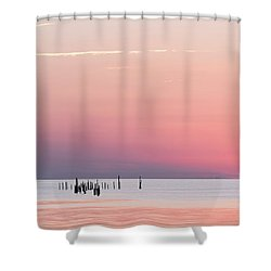 Sunset Landscape Shower Curtain