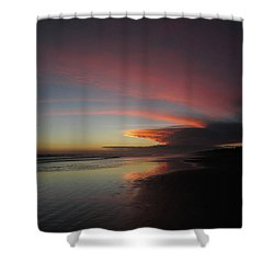 Sunset Las Lajas Shower Curtain