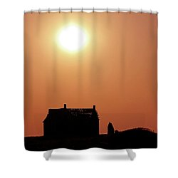 Sunset Lonely Shower Curtain