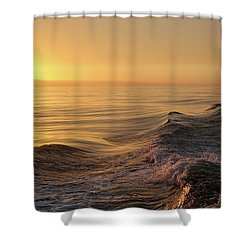 Sunset Meets Wake Shower Curtain
