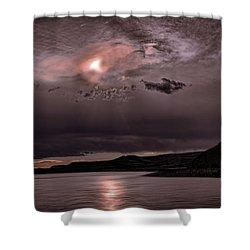 Sunset Near Crested Butte Shower Curtain