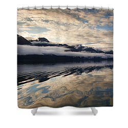 Sunset Near Sullivan Island Shower Curtain by Michele Cornelius