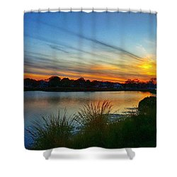 Colors Of The Sky Shower Curtain