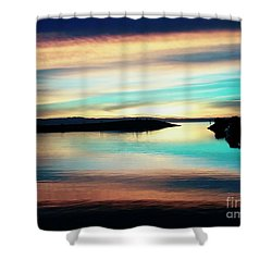 Sunset Noctune Shower Curtain