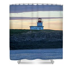Shower Curtain featuring the photograph Sunset Nova Scotia  by Trace Kittrell