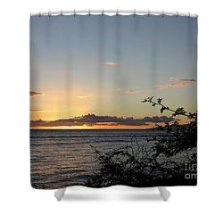Sunset Off Lipoa Shower Curtain