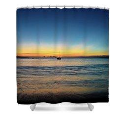Sunset On Ka'anapali Beach Shower Curtain