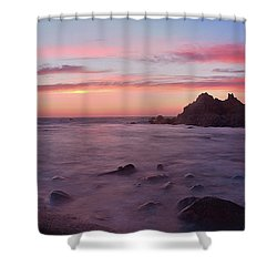 Sunset On Monterey Bay Shower Curtain