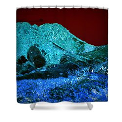 Sunset On Qo'nos Shower Curtain