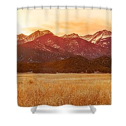Sunset On The Continental Divide Shower Curtain