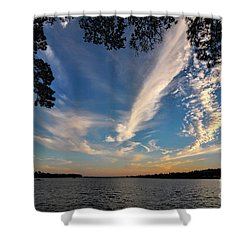 Sunset On The Pamlico Shower Curtain