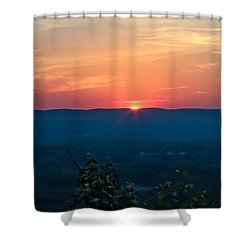 Sunset Over Easthampton Shower Curtain
