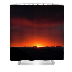 Sunset Over Grand Canyon Shower Curtain