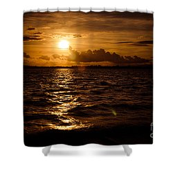 Sunset Over The Cunnigar Shower Curtain