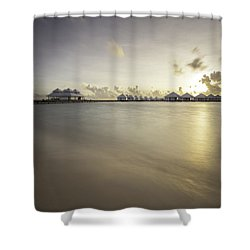 Sunset Paradise Shower Curtain