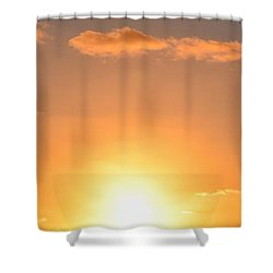 Sunset People In Imperial Beach Shower Curtain