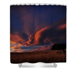 Sunset Plains Shower Curtain