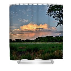Sunset Rain Shower Curtain