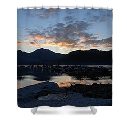 Sunset Reflections #1 Shower Curtain