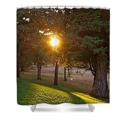 Sunset Retreat Shower Curtain