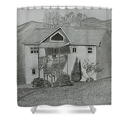 Sunset  Ridge  Shower Curtain
