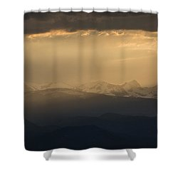 Shower Curtain featuring the photograph Sunset Softness by Colleen Coccia
