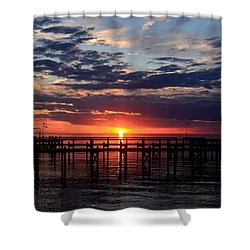 Sunset - South Carolina Shower Curtain