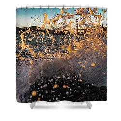 Sunset Splash Shower Curtain