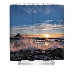 Sunset Splash II Shower Curtain
