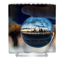 Sunset St. Louis II Shower Curtain