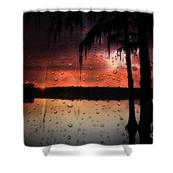Sunset Storms Shower Curtain