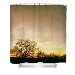 #sunset #sunrise #sun #tagsforlikes Shower Curtain