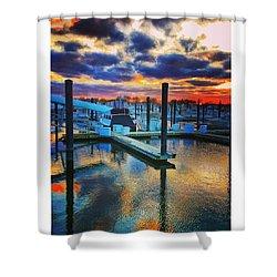 Sunset Supreme Shower Curtain